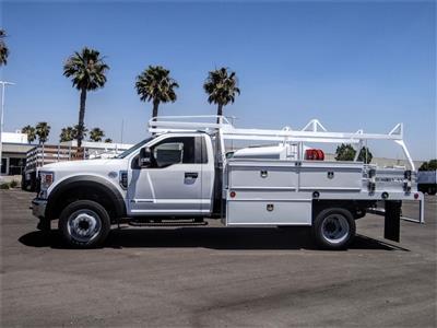 2020 Ford F-450 Regular Cab DRW 4x2, Scelzi CTFB Contractor Body #FL2493 - photo 3