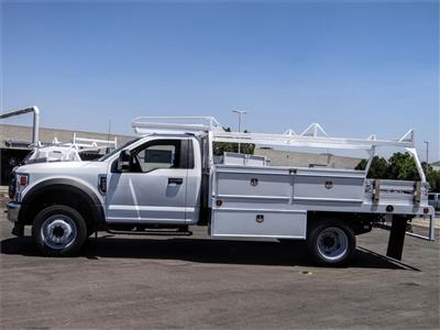 2020 Ford F-450 Regular Cab DRW 4x2, Scelzi CTFB Contractor Body #FL2494 - photo 3