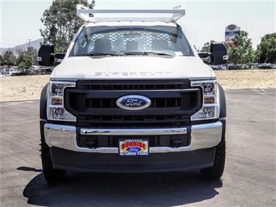 2020 Ford F-450 Regular Cab DRW 4x2, Scelzi CTFB Contractor Body #FL2494 - photo 7