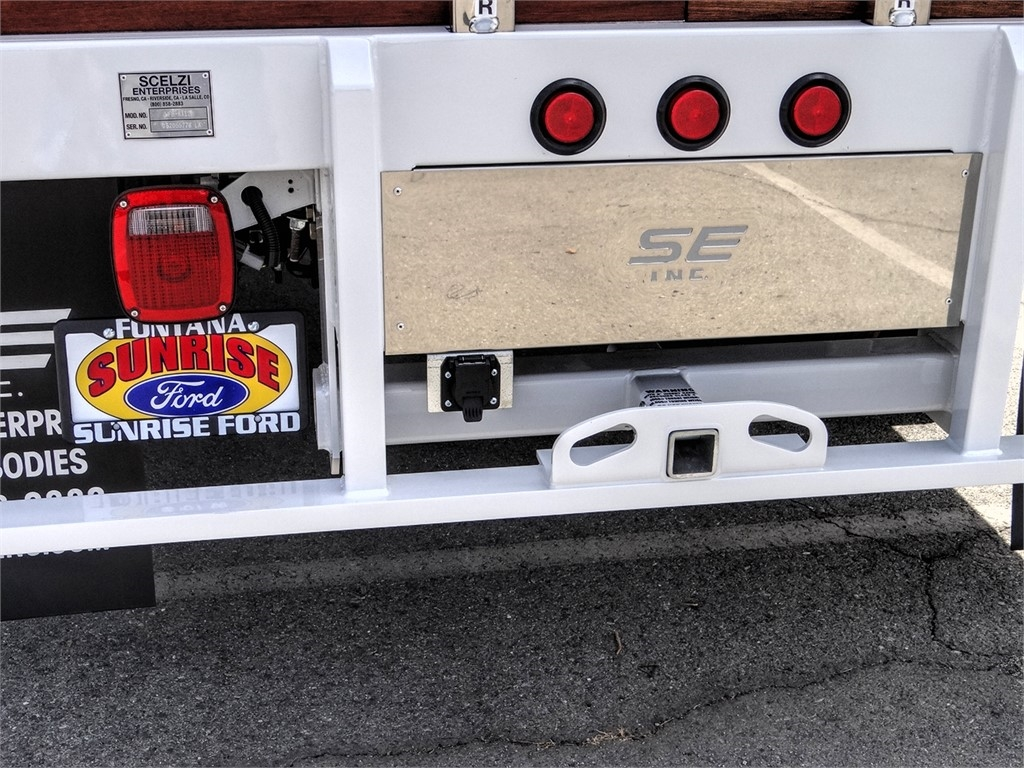 2020 Ford F-450 Regular Cab DRW 4x2, Scelzi WFB Stake Bed #FL2495 - photo 9