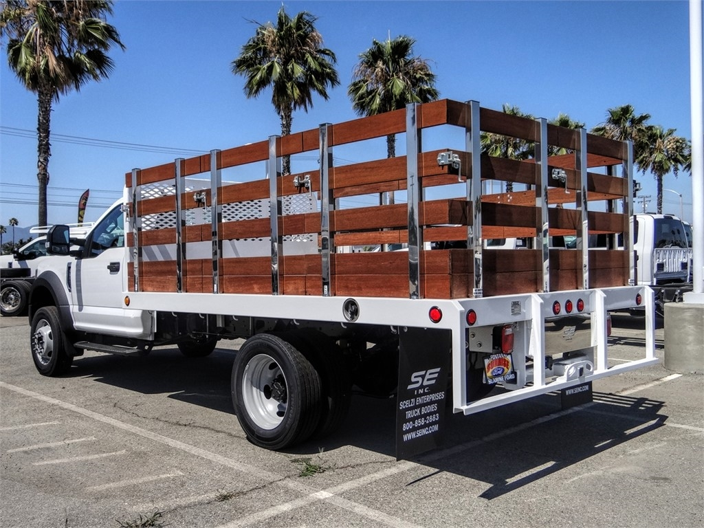 2020 Ford F-450 Regular Cab DRW 4x2, Scelzi Stake Bed #FL2513 - photo 1