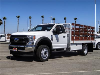 2020 Ford F-450 Regular Cab DRW 4x2, Scelzi WFB Flatbed #FL2546 - photo 1