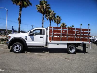 2020 Ford F-450 Regular Cab DRW 4x2, Scelzi WFB Flatbed #FL2546 - photo 3