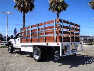 2020 Ford F-450 Regular Cab DRW 4x2, Scelzi WFB Flatbed #FL2546 - photo 2