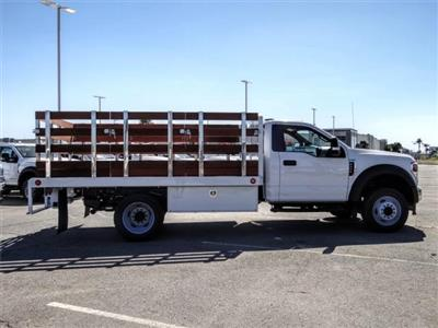 2020 Ford F-450 Regular Cab DRW 4x2, Scelzi WFB Flatbed #FL2546 - photo 5