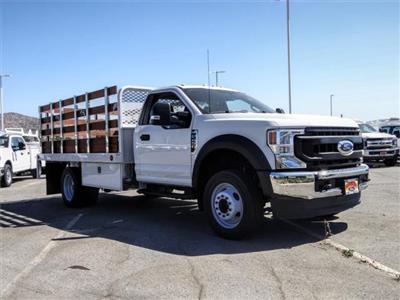 2020 Ford F-450 Regular Cab DRW 4x2, Scelzi WFB Flatbed #FL2546 - photo 6