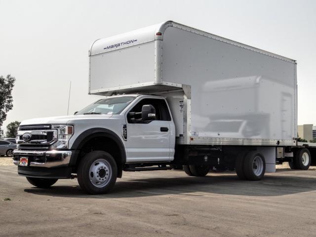 2020 Ford F-550 Regular Cab DRW 4x2, Marathon FRP High Cube Dry Freight #FL2547 - photo 1
