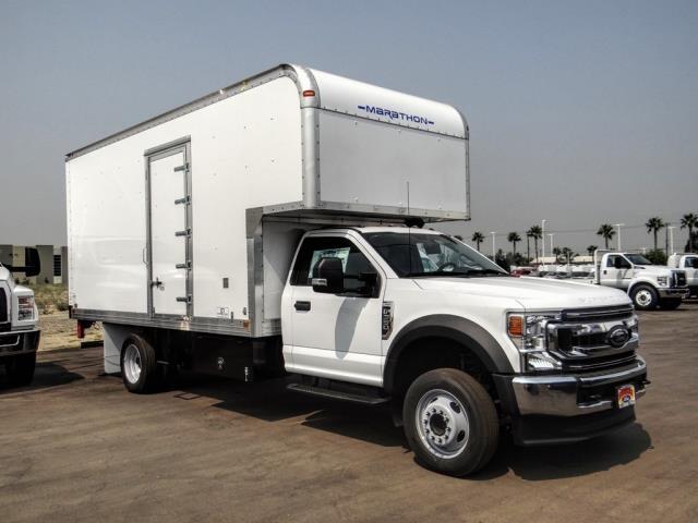 2020 Ford F-550 Regular Cab DRW 4x2, Marathon FRP High Cube Dry Freight #FL2547 - photo 6