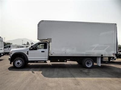 2020 Ford F-550 Regular Cab DRW 4x2, Marathon FRP High Cube Dry Freight #FL2547 - photo 3