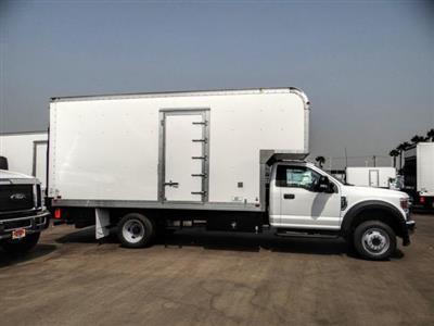 2020 Ford F-550 Regular Cab DRW 4x2, Marathon FRP High Cube Dry Freight #FL2547 - photo 5