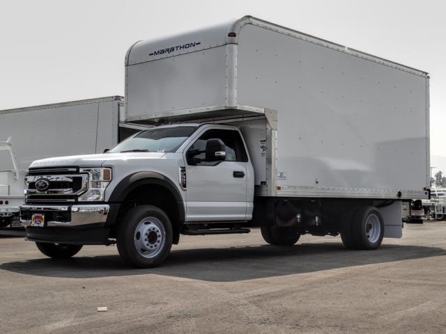 2020 Ford F-550 Regular Cab DRW 4x2, Marathon FRP High Cube Dry Freight #FL2549 - photo 1