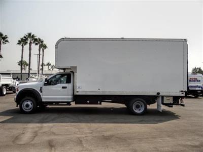 2020 Ford F-550 Regular Cab DRW 4x2, Marathon FRP High Cube Dry Freight #FL2549 - photo 3