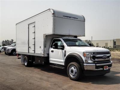 2020 Ford F-550 Regular Cab DRW 4x2, Marathon FRP High Cube Dry Freight #FL2549 - photo 7
