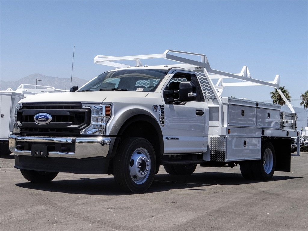 2020 Ford F-550 Regular Cab DRW 4x2, Scelzi Contractor Body #FL2618 - photo 1
