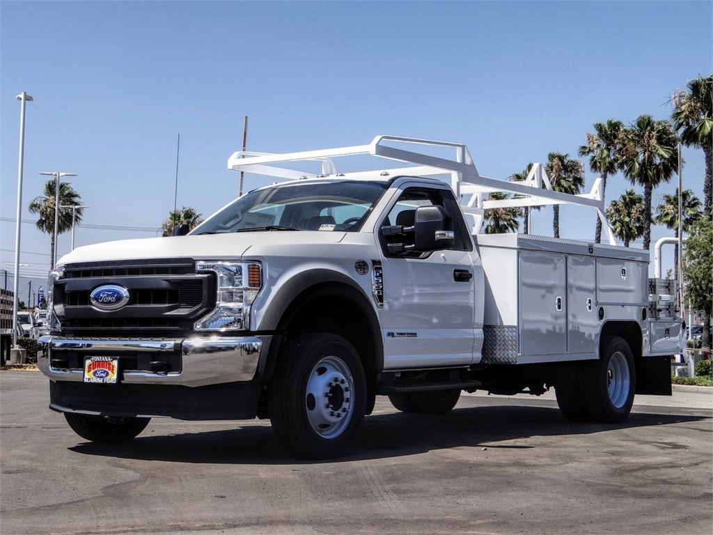 2020 Ford F-550 Regular Cab DRW 4x2, Scelzi SEC Combo Body #FL2621 - photo 1