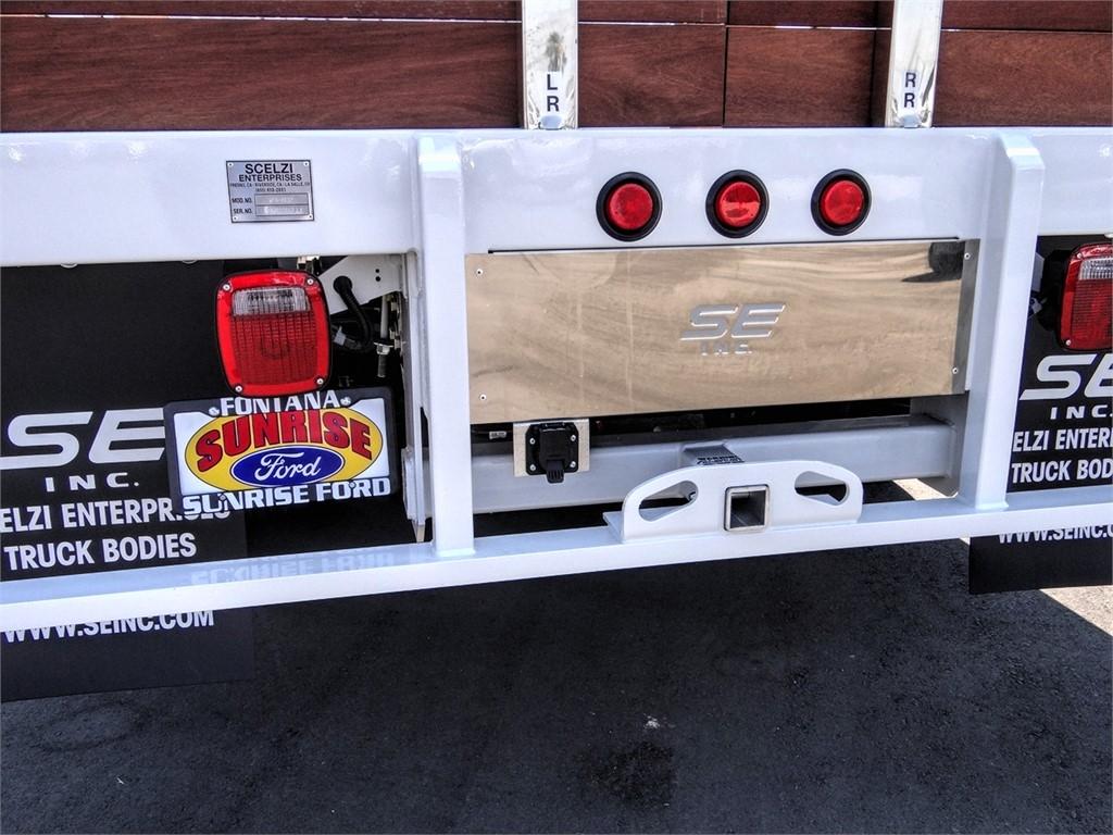 2020 Ford F-550 Regular Cab DRW 4x2, Scelzi WFB Stake Bed #FL2623 - photo 11