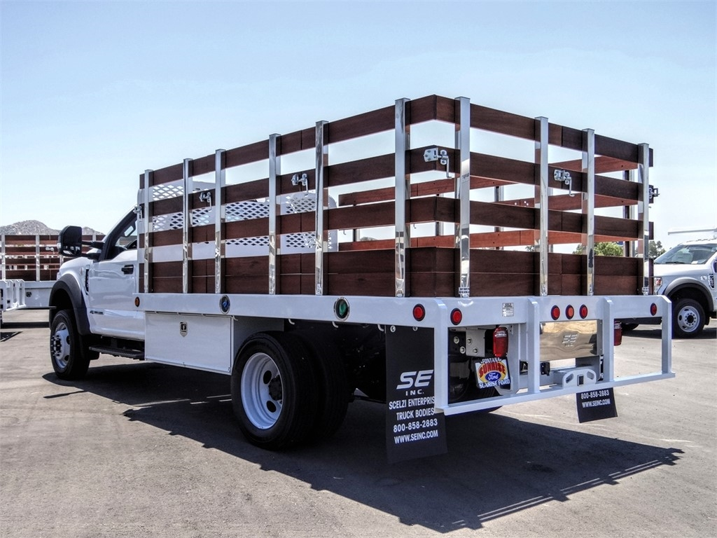 2020 Ford F-550 Regular Cab DRW 4x2, Scelzi Stake Bed #FL2623 - photo 1