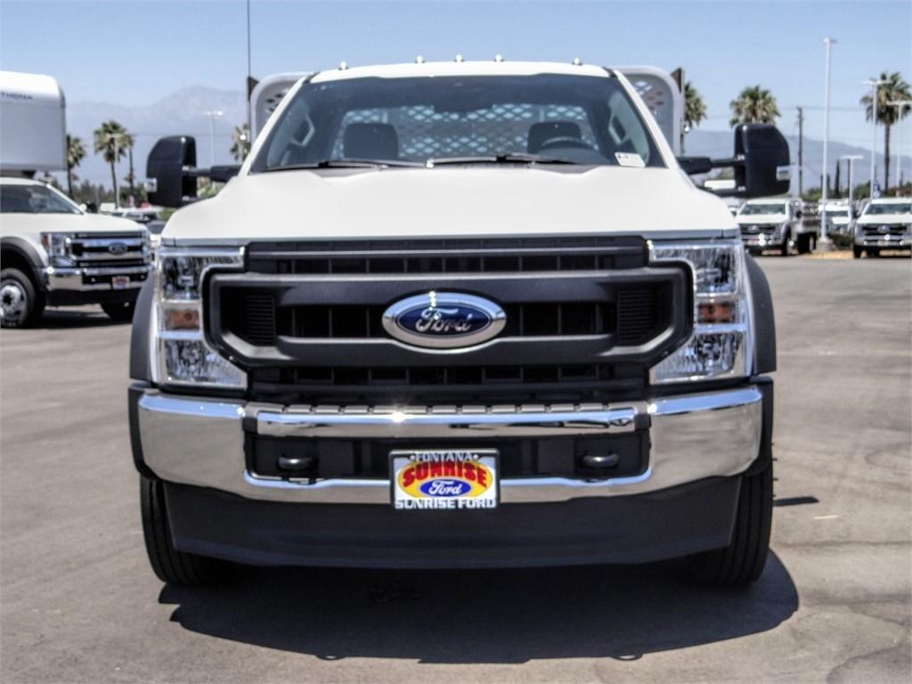 2020 Ford F-550 Regular Cab DRW 4x2, Scelzi WFB Stake Bed #FL2623 - photo 7