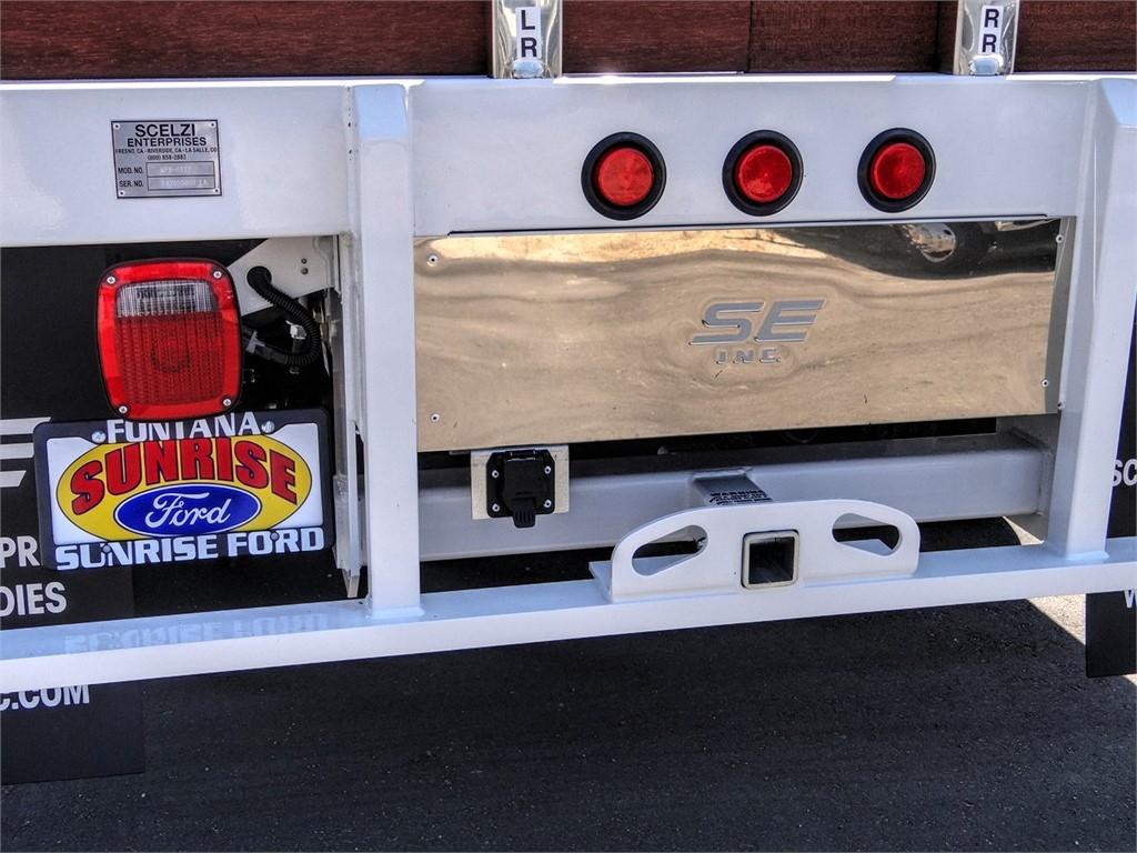 2020 Ford F-450 Regular Cab DRW 4x2, Scelzi WFB Stake Bed #FL2626 - photo 10