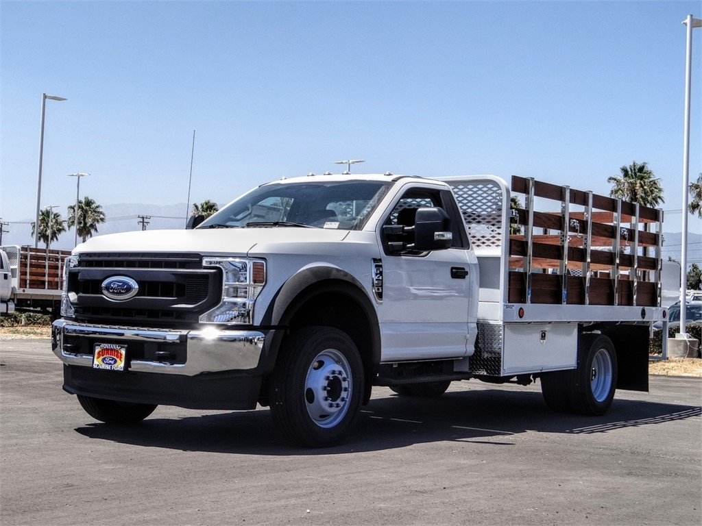 2020 Ford F-450 Regular Cab DRW 4x2, Scelzi Stake Bed #FL2626 - photo 1