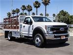 2020 Ford F-450 Regular Cab DRW 4x2, Scelzi WFB Stake Bed #FL2626 - photo 6
