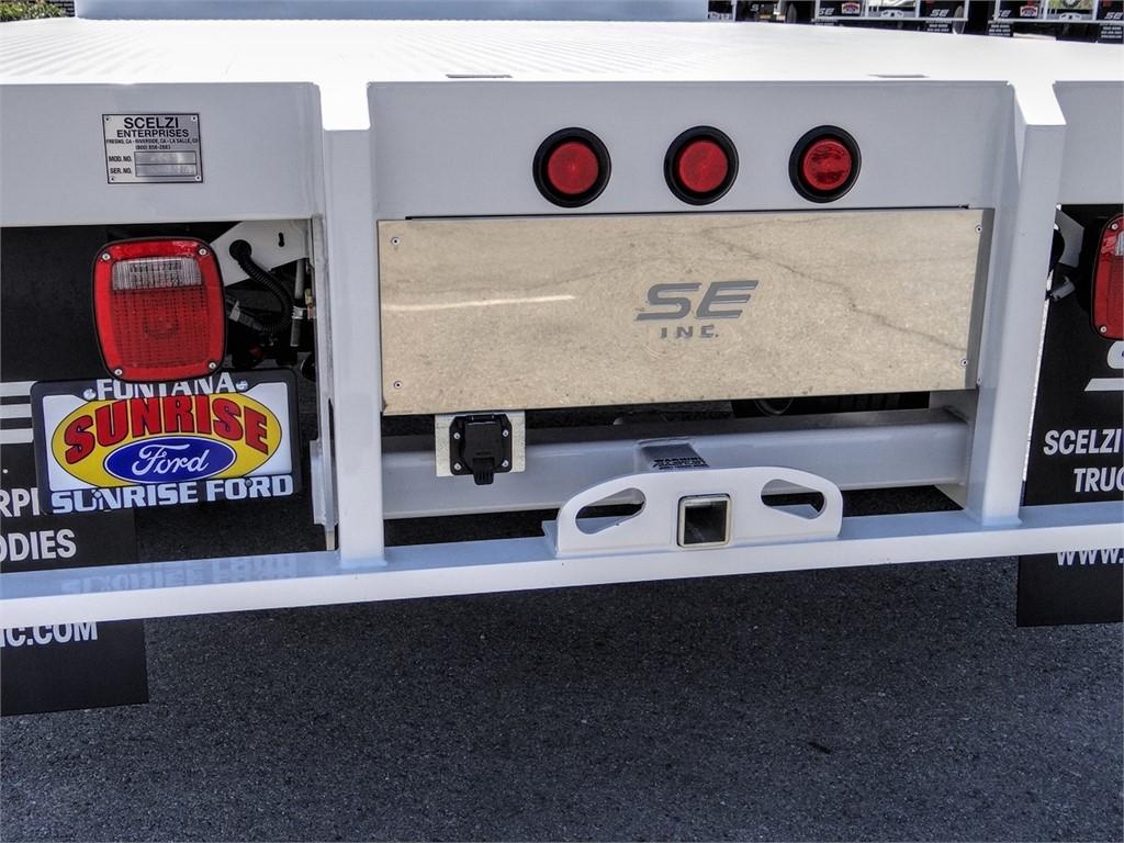 2020 Ford F-550 Regular Cab DRW 4x2, Scelzi WFB Flatbed #FL2627 - photo 10