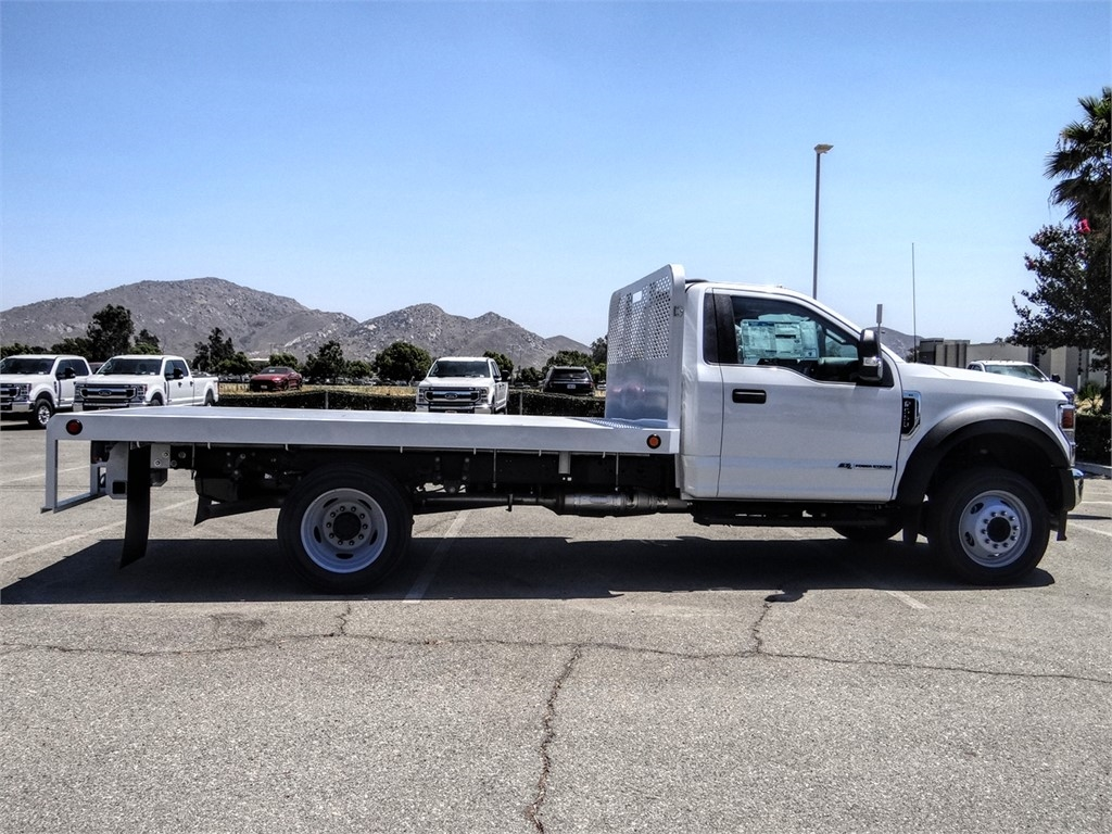 2020 Ford F-550 Regular Cab DRW 4x2, Scelzi WFB Flatbed #FL2627 - photo 5