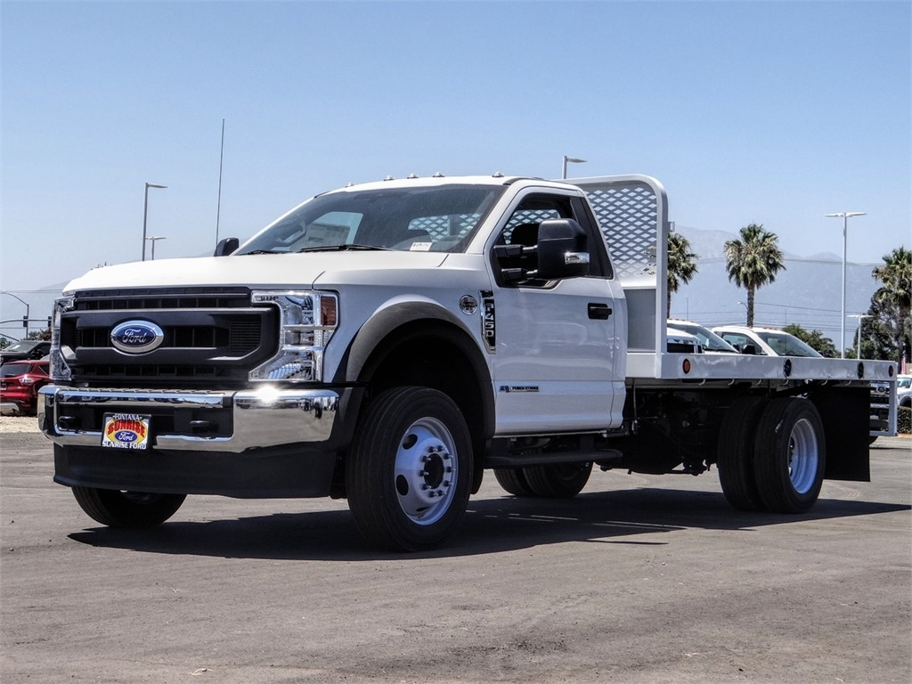 2020 Ford F-450 Regular Cab DRW 4x2, Scelzi WFB Flatbed #FL2628 - photo 1