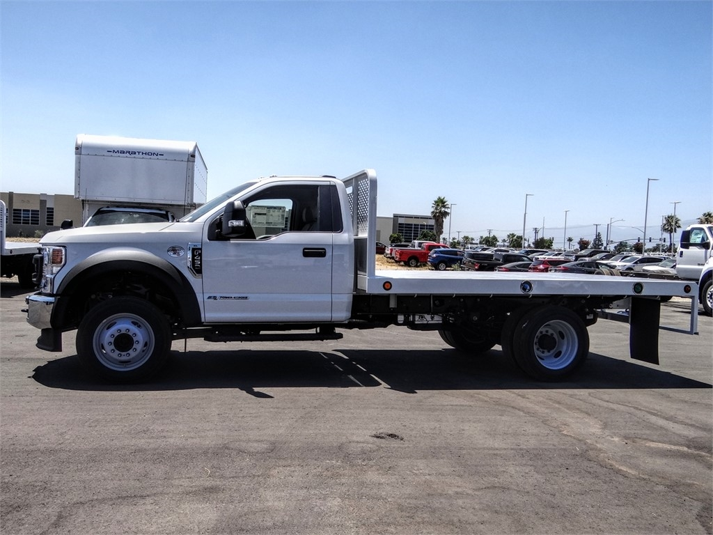 2020 Ford F-450 Regular Cab DRW 4x2, Scelzi WFB Flatbed #FL2628 - photo 3