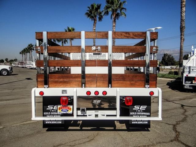 2020 Ford F-450 Regular Cab DRW 4x2, Scelzi WFB Stake Bed #FL2628 - photo 4