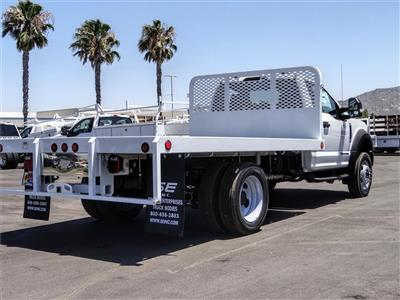 2020 Ford F-450 Regular Cab DRW 4x2, Scelzi WFB Flatbed #FL2628 - photo 4