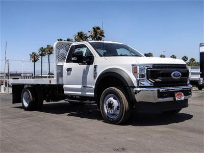 2020 Ford F-450 Regular Cab DRW 4x2, Scelzi WFB Flatbed #FL2628 - photo 6