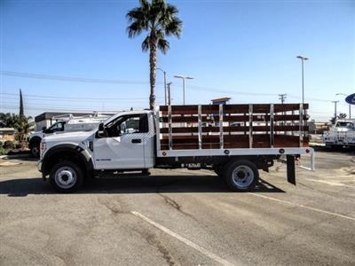 2020 Ford F-450 Regular Cab DRW 4x2, Scelzi WFB Stake Bed #FL2628 - photo 3