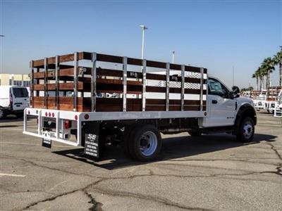 2020 Ford F-450 Regular Cab DRW 4x2, Scelzi WFB Stake Bed #FL2628 - photo 5