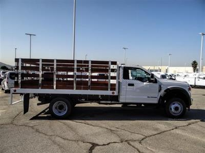 2020 Ford F-450 Regular Cab DRW 4x2, Scelzi WFB Stake Bed #FL2628 - photo 6