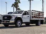 2020 Ford F-450 Regular Cab DRW 4x2, Scelzi WFB Stake Bed #FL2628 - photo 1
