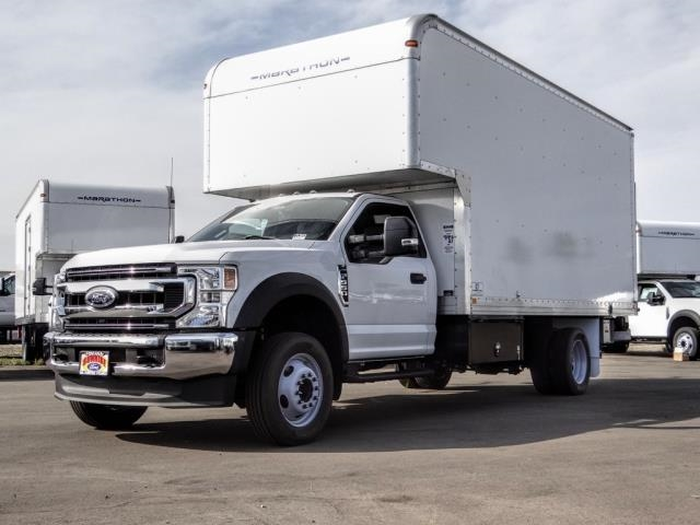 2020 Ford F-550 Regular Cab DRW 4x2, Marathon FRP High Cube Dry Freight #FL2643 - photo 1