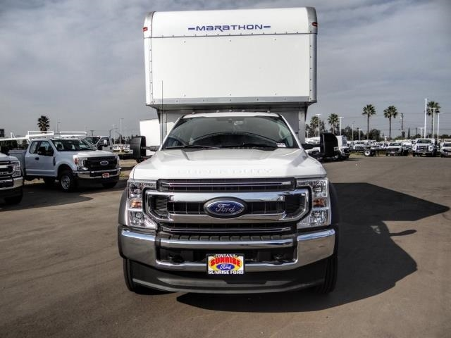 2020 Ford F-550 Regular Cab DRW 4x2, Marathon FRP High Cube Dry Freight #FL2643 - photo 8