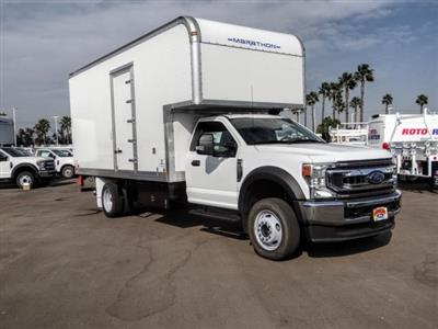 2020 Ford F-550 Regular Cab DRW 4x2, Marathon FRP High Cube Dry Freight #FL2643 - photo 7