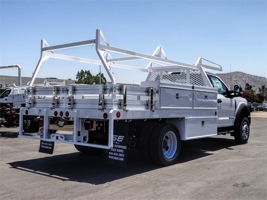 2020 Ford F-550 Regular Cab DRW 4x2, Scelzi CTFB Contractor Body #FL2794 - photo 4