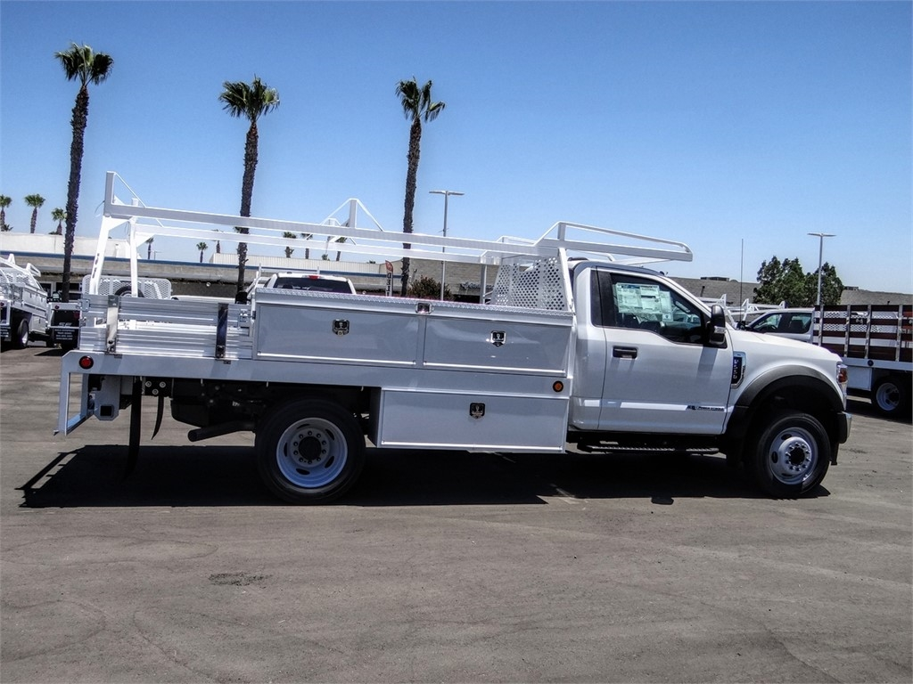 2020 Ford F-550 Regular Cab DRW 4x2, Scelzi CTFB Contractor Body #FL2794 - photo 5