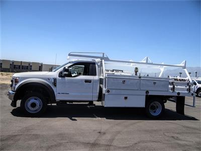 2020 Ford F-550 Regular Cab DRW 4x2, Scelzi CTFB Contractor Body #FL2794 - photo 3
