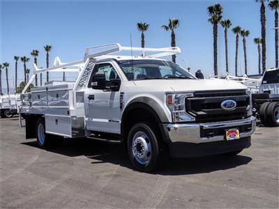 2020 Ford F-550 Regular Cab DRW 4x2, Scelzi CTFB Contractor Body #FL2794 - photo 6