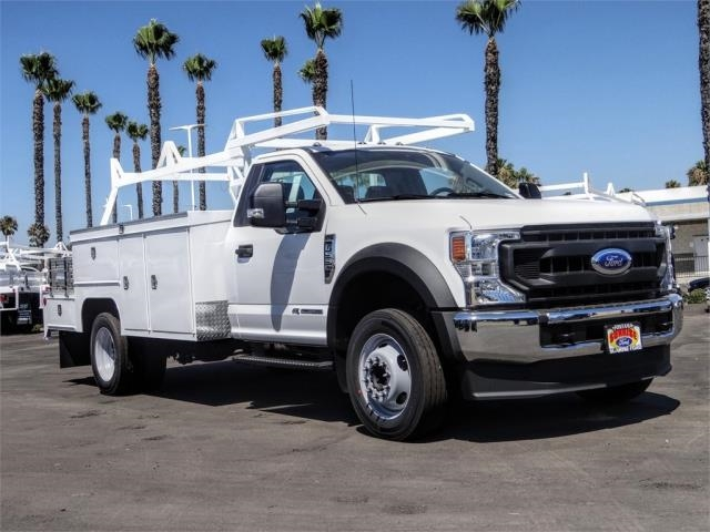 2020 Ford F-550 Regular Cab DRW 4x2, Scelzi SEC Combo Body #FL2795 - photo 6