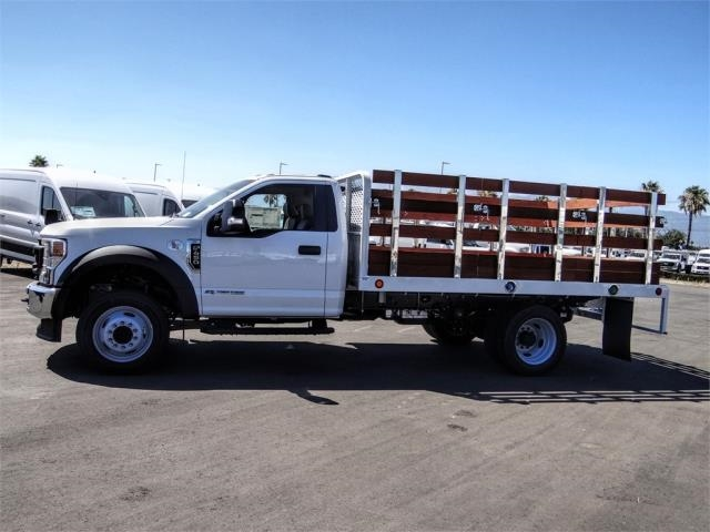 2020 Ford F-450 Regular Cab DRW 4x2, Scelzi WFB Stake Bed #FL2808 - photo 3