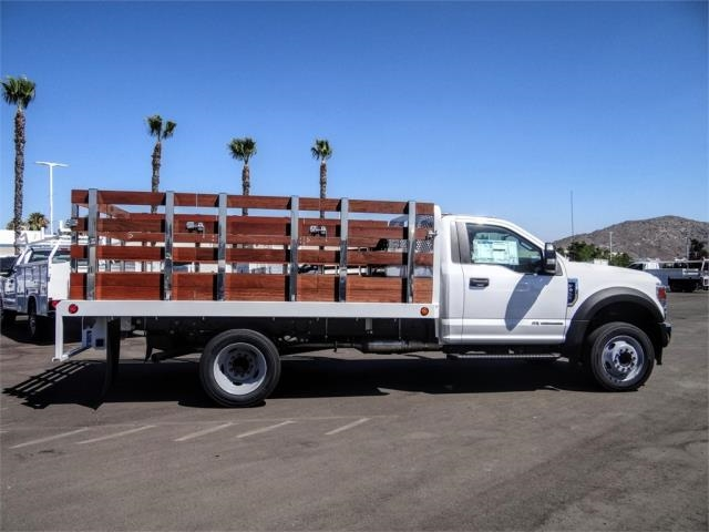 2020 Ford F-450 Regular Cab DRW 4x2, Scelzi WFB Stake Bed #FL2808 - photo 5