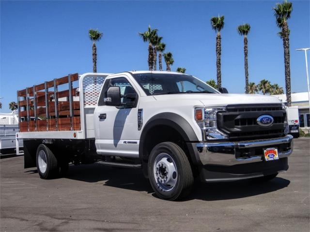 2020 Ford F-450 Regular Cab DRW 4x2, Scelzi WFB Stake Bed #FL2808 - photo 6