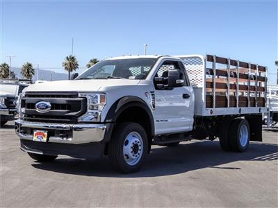 2020 Ford F-450 Regular Cab DRW 4x2, Scelzi WFB Stake Bed #FL2808 - photo 1