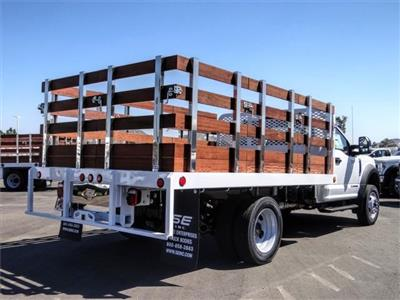 2020 Ford F-450 Regular Cab DRW 4x2, Scelzi WFB Stake Bed #FL2808 - photo 4
