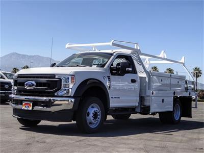 2020 Ford F-550 Regular Cab DRW 4x2, Scelzi CTFB Contractor Body #FL2809 - photo 1